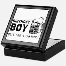Birthday Boy Beer Keepsake Box