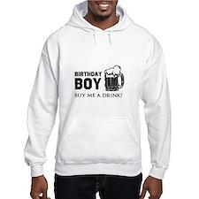 Birthday Boy Beer Jumper Hoody