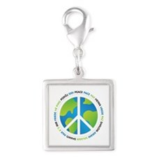 World Peace Sign Charms
