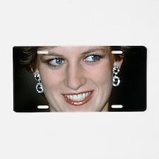 Stunning! HRH Princess Diana Aluminum License Plat