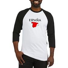 Espana Red Map Baseball Jersey