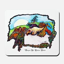 Dragon And Centaur Fairy Mousepad