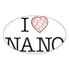 I heart Nano tshirt black text Decal