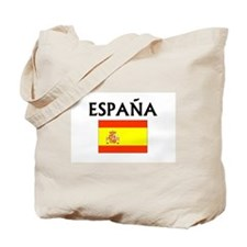 Espana Flag Tote Bag
