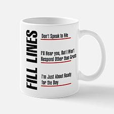 Fill Lines Mug