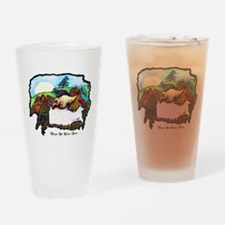 Dragon And Centaur Fairy Drinking Glass