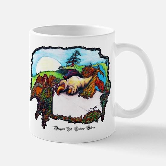 Dragon And Centaur Fairy Mug