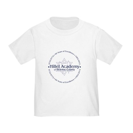 50th Anniversary of Hillel Academy Toddler T-Shirt