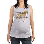 flight da Vinci horse copy.jpg Maternity Tank Top