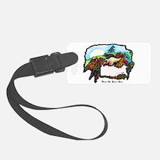 Dragon And Centaur Fairy Luggage Tag