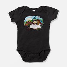 Dragon And Centaur Fairy Baby Bodysuit