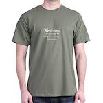 Objectivism Dark T-Shirt (blk, red, grn, blue)