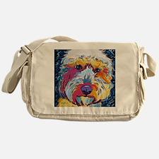 Sunshine The Doodle Messenger Bag
