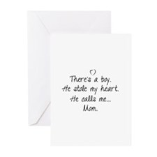 There's a boy Greeting Cards (Pk of 20)