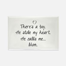 There's a boy Rectangle Magnet (10 pack)