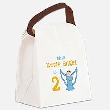 little angel custom age Canvas Lunch Bag