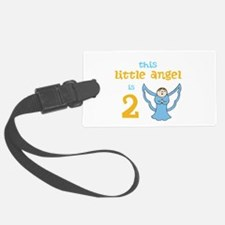 little angel custom age Luggage Tag