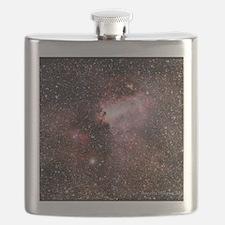 The Swan Nebula Flask