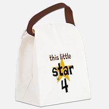 little star custom age Canvas Lunch Bag
