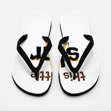 little star custom age Flip Flops