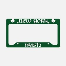 New York Irish American License Plate Holder