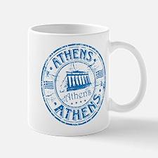 Athens Stamp Mugs