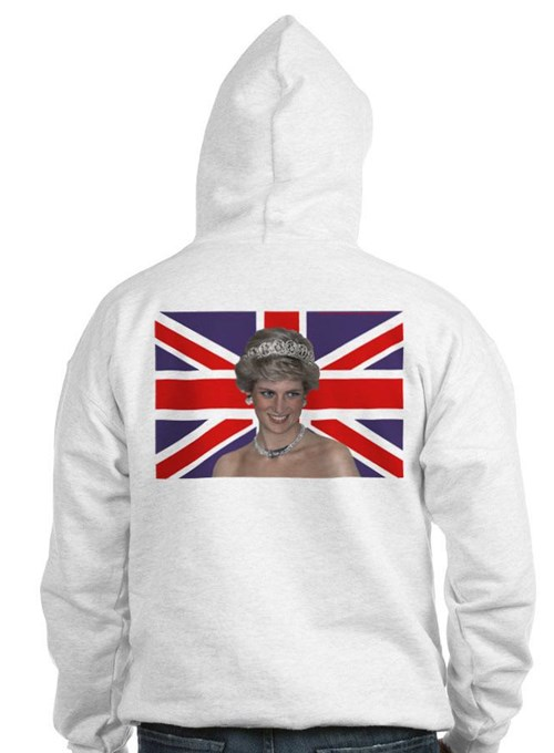HRH Princess Diana Wow! Jumper Hoody