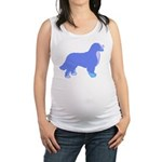 Tri Colorful Bernese Maternity Tank Top