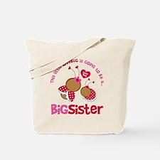 LovebugBigSisterToBe Tote Bag