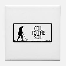 Coil to the soil Tile Coaster