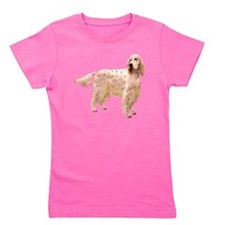 english setter dog breed aa.png Girl's Tee