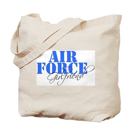 Air Force Girlfriend Tote Bag