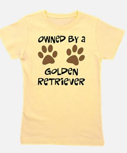 golden retriever.png Girl's Tee