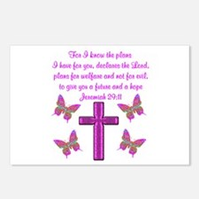 JEREMIAH 29:11 Postcards (Package of 8)