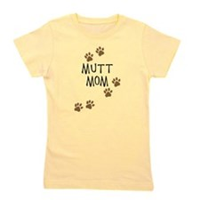 mutt mom.png Girl's Tee