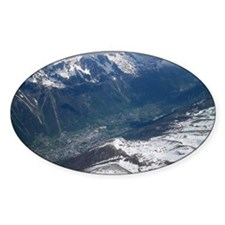 Chamonix Valley View Decal
