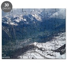 Chamonix Valley View Puzzle