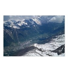 Chamonix Valley View Postcards (Package of 8)