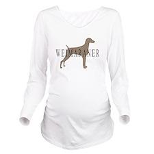 wein greytones.png Long Sleeve Maternity T-Shirt