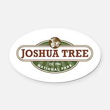 Joshua Tree National Park Oval Car Magnet