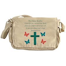 JEREMIAH 29:11 Messenger Bag
