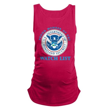 DHS Watchlist Member Maternity Tank Top