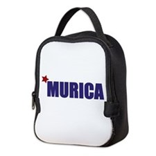 'Murica America Neoprene Lunch Bag