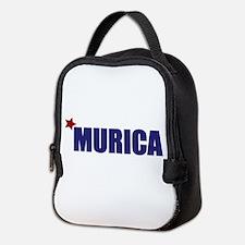 'Murica America Neoprene Lunch Bag