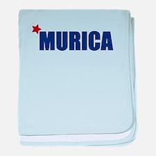 'Murica America baby blanket