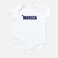 'Murica America Infant Bodysuit