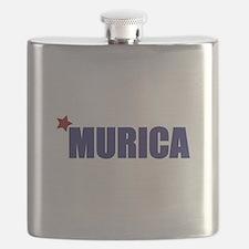 'Murica America Flask