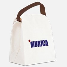 'Murica America Canvas Lunch Bag