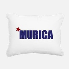 'Murica America Rectangular Canvas Pillow