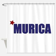 'Murica America Shower Curtain